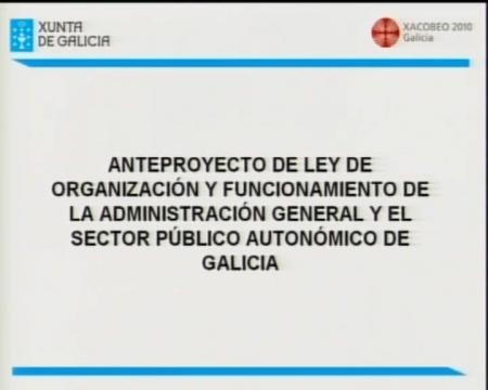 Beatriz Cuiña Barja, secretaria xeral da Consellería de Presidencia, Administracións Públicas e Xustiza - Xornadas sobre A Modernización da Administración Autonómica de Galicia